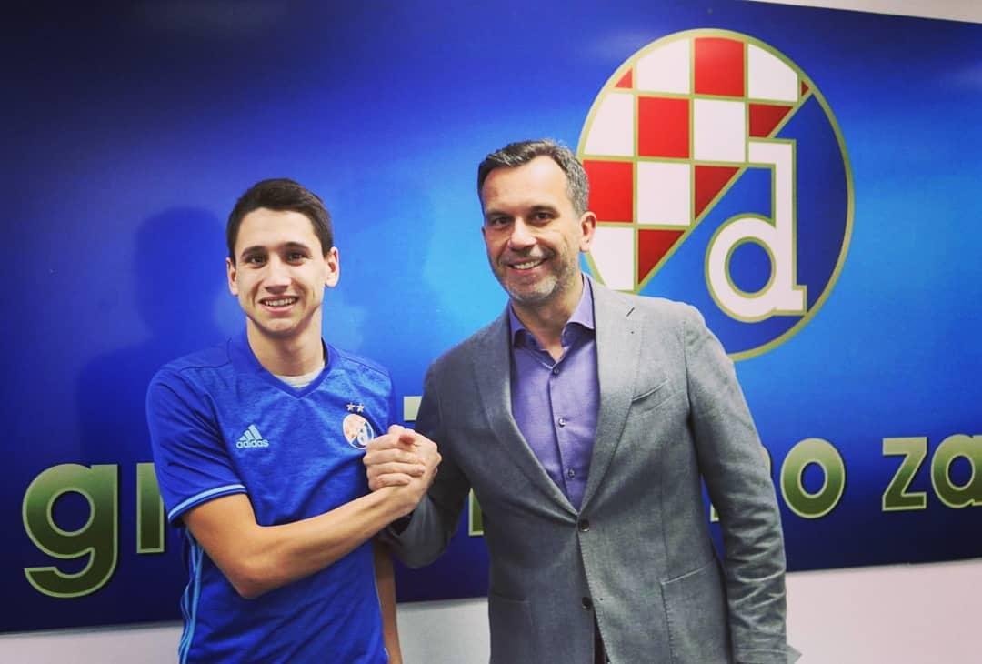 Luka Menalo potpisao za Dinamo Zagreb