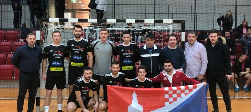 Malonogometna ekipa Fra Mladen Hrkać