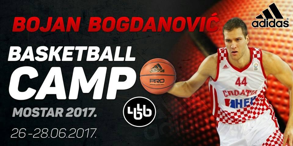 Bojan Bogdanović basketball camp Mostar 2017