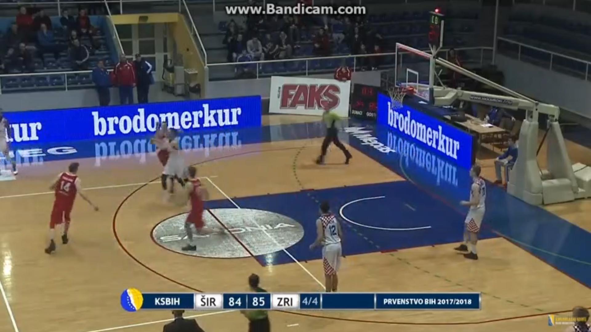VIDEO: Mikulić sa zvukom sirene pogađa tricu za pobjedu Širokog