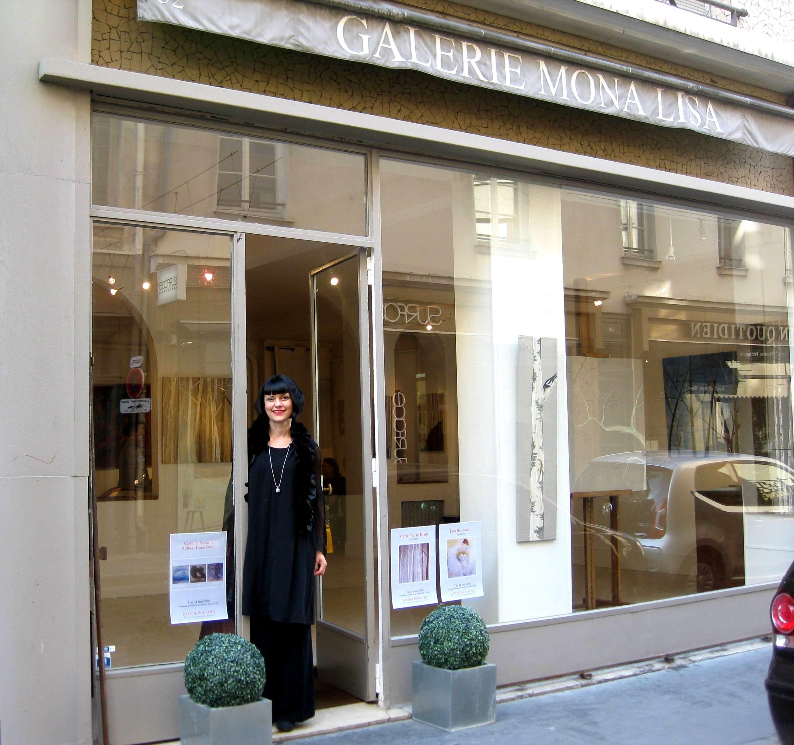 Ivana Ćavar izlaže 4. put u Parizu