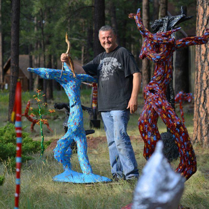 Miljenko Michael Barbaric na američkoj art turneji