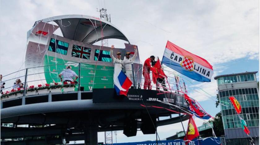 Monza i zastave