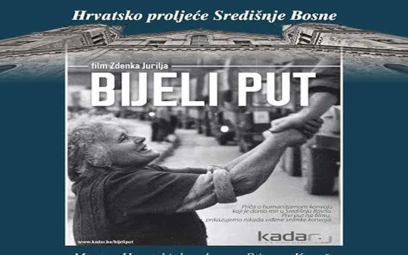 Film 'Bijeli put' u Kosači 26. svibnja