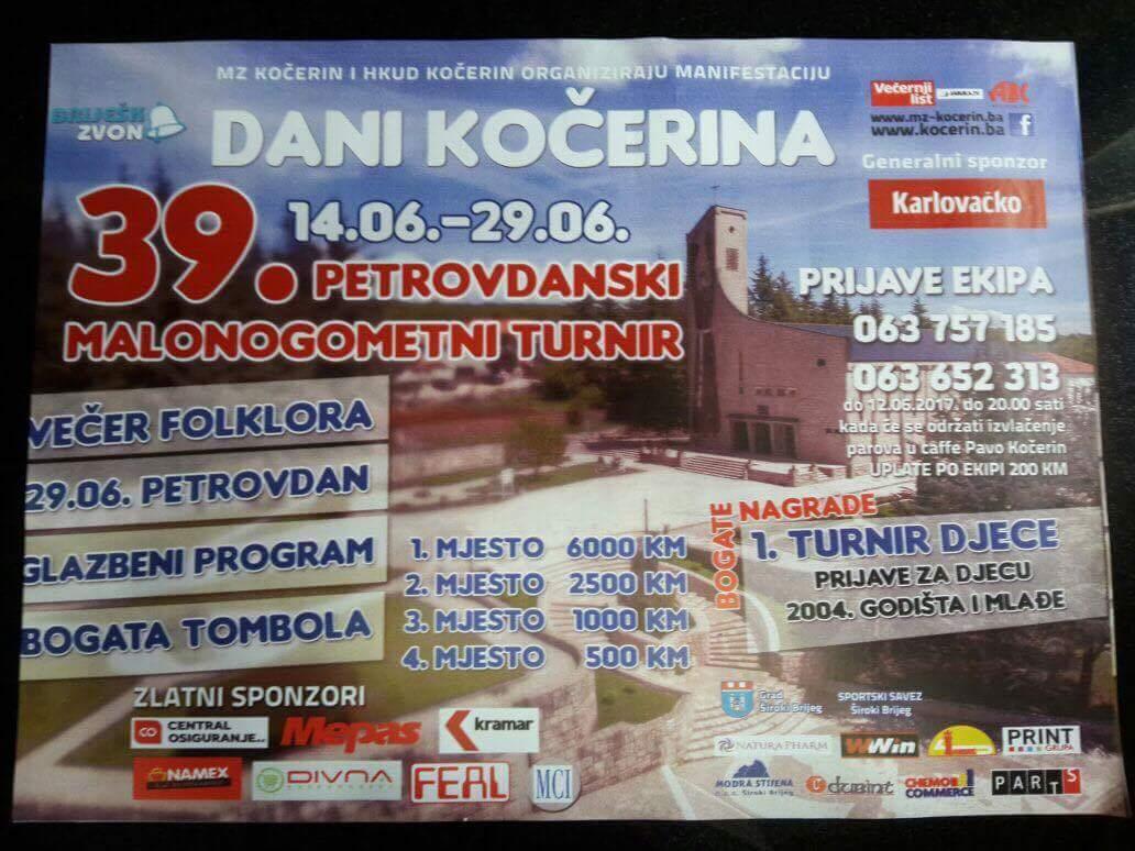 39. Petrovdanski turnir: Starta najstariji turnir u malom nogometu