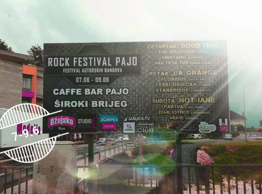 Rock festival Pajo