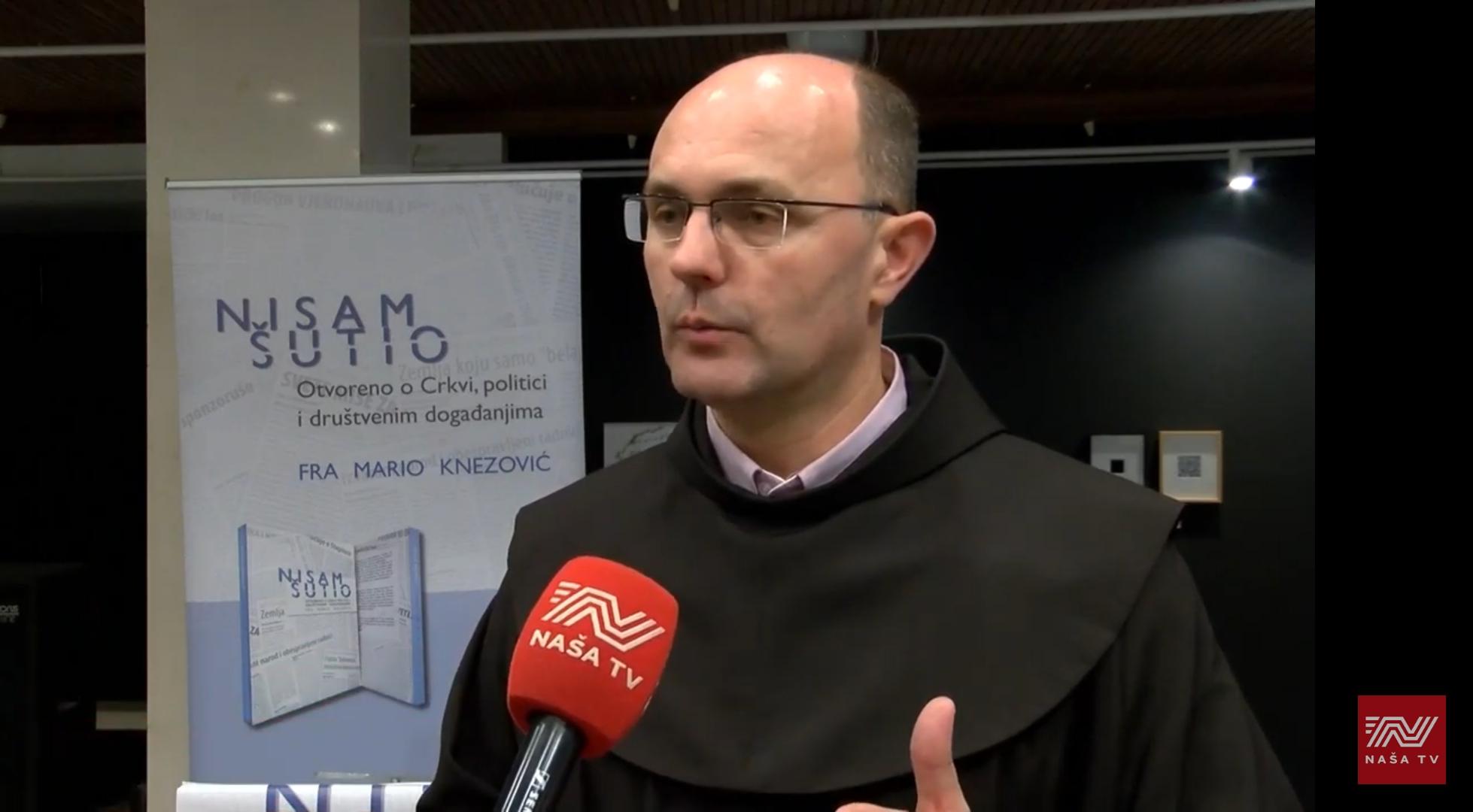 Promocija knjige fra Marija Knezovića 3.12.2019.