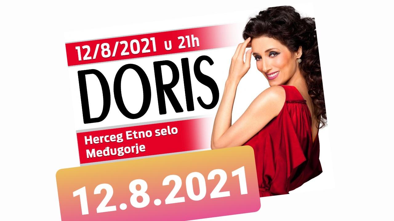 Doris Dragović 12.8.2021. Herceg etno selo Međugorje