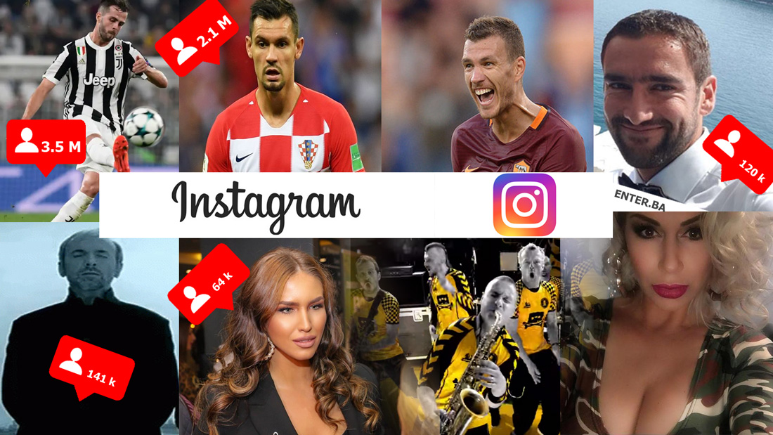 BiH Instagram Top 10 – profili