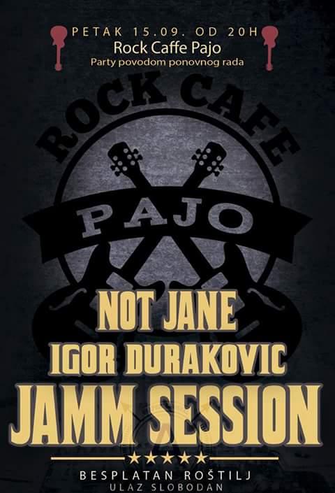 Rock cafe Pajo u petak re-opening uz koncert i roštilj