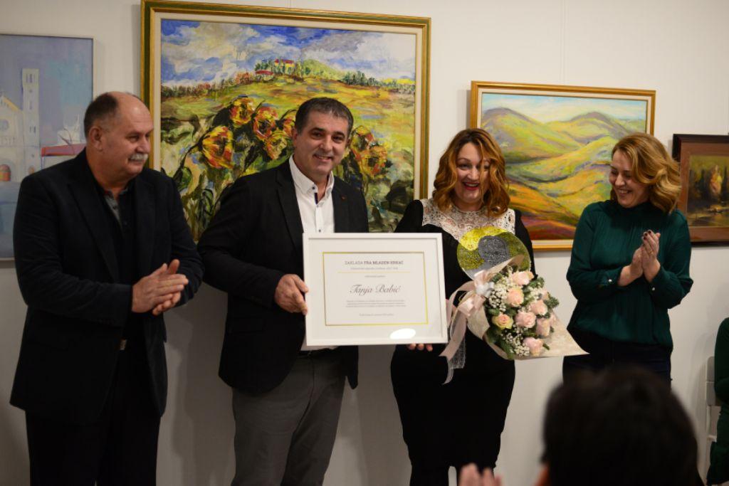 Tanja Babić primila nagradu za Volontera 2018. godine