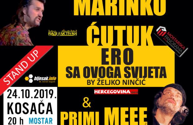 Audicija Željka Ninčića 24.10. u  Mostaru u Kosači