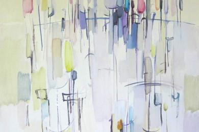 Krajolik, 2014., ulje na platnu, 90,5×100 cm
