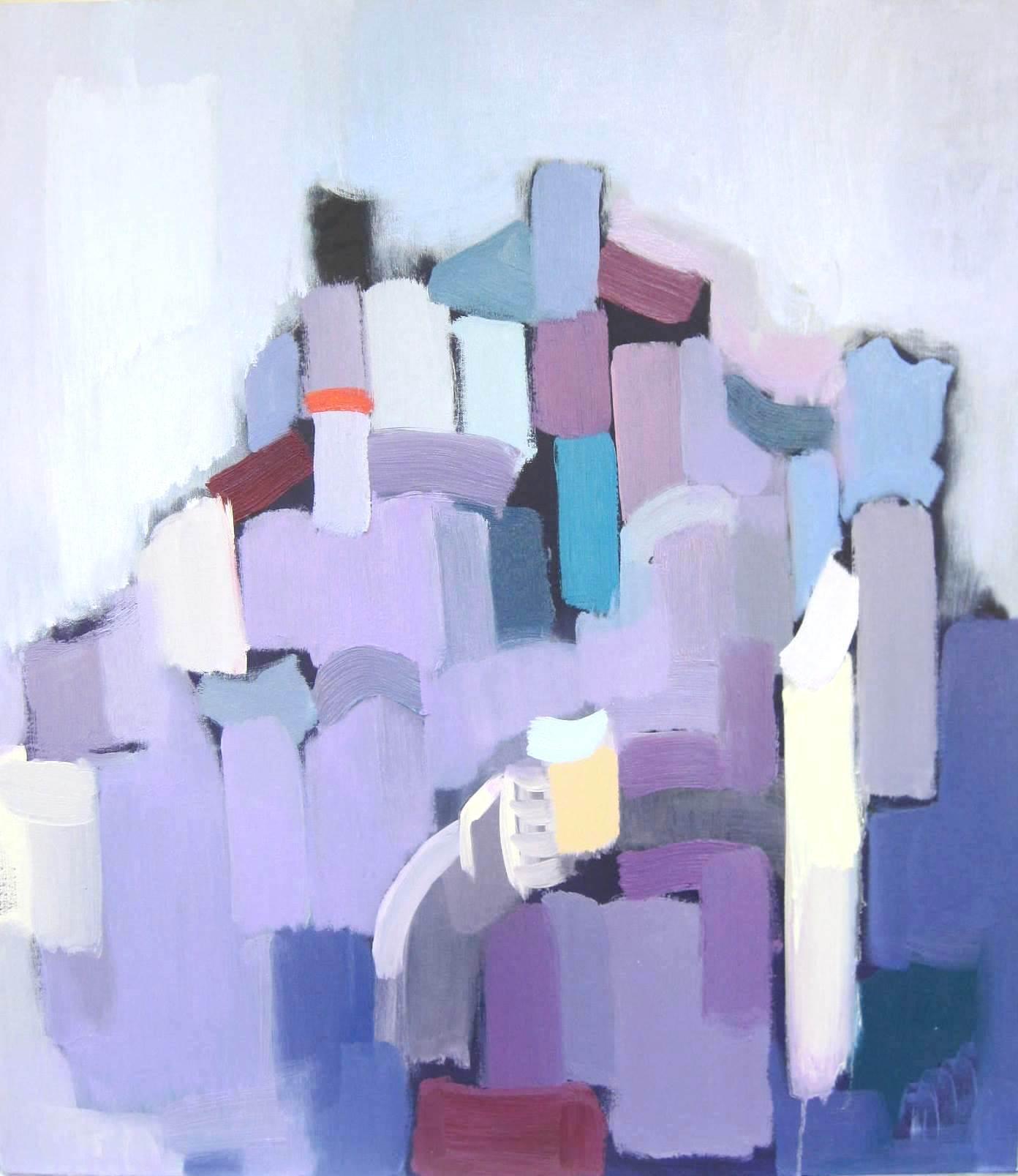 Krajolik, 2014., ulje naplatnu, 90x80 cm