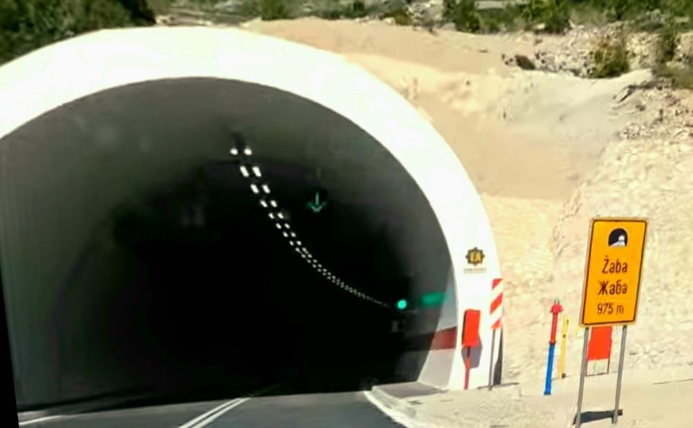 Neum – tunel Hutovo Žaba