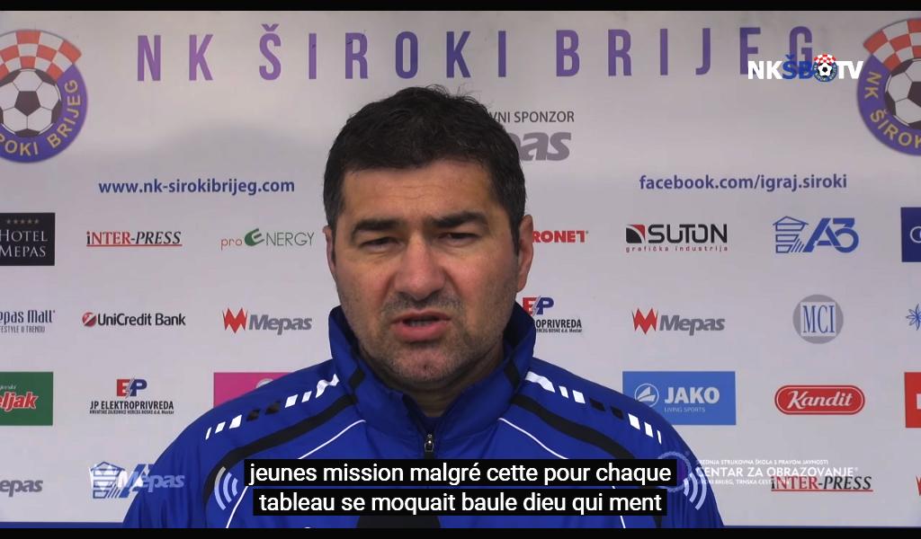 NK Široki Brijeg u nedjelju na Grbavici