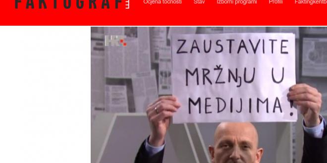 U napadu na Fenix-magazin ultralijevi Faktograf 'promašio ceo fudbal'