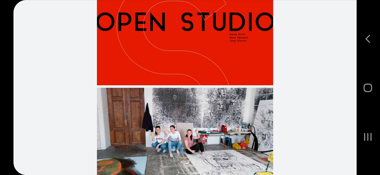 Open studio – e izložba