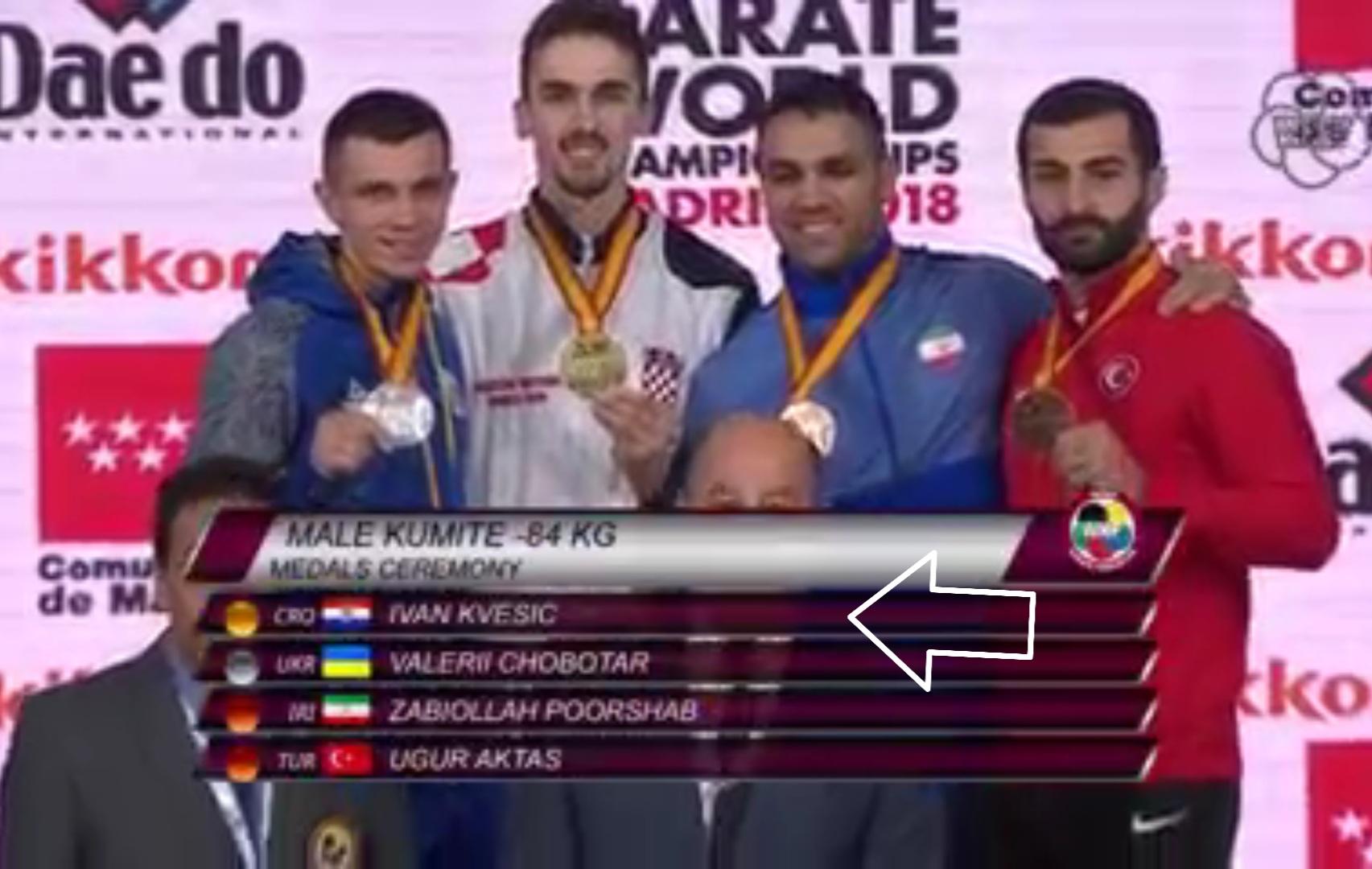 🥋 Ivan Kvesić ide na Olimpijske igre
