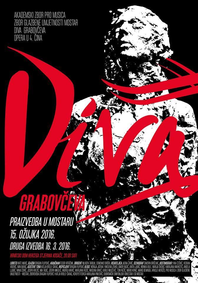 Praizvedba: Opera Diva Grabovčeva