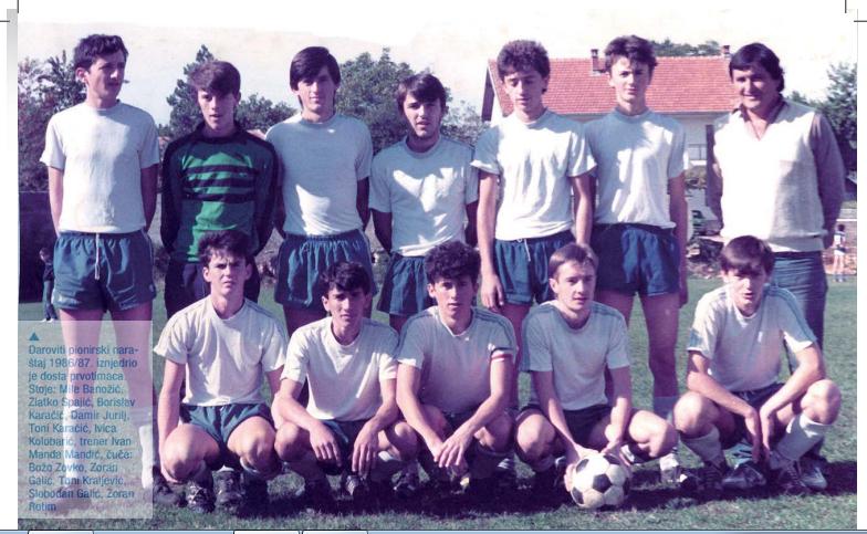 Juniori NK Mladost 1986-1987