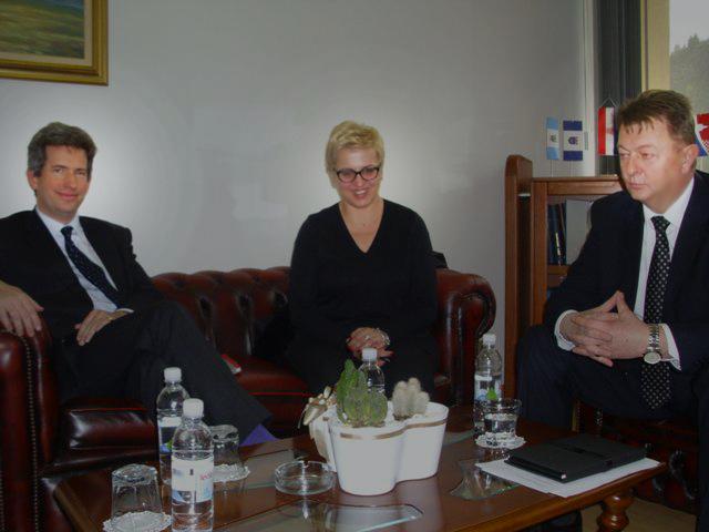 Posjet britanskog veleposlanika Županiji Zapadnohercegovačkoj